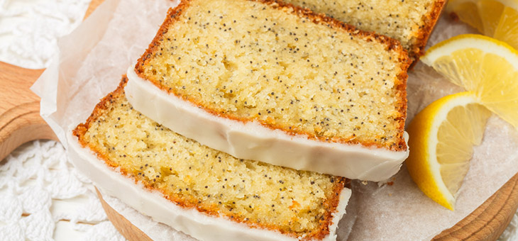 Lovely Lemon and Poppy Seed Loaf