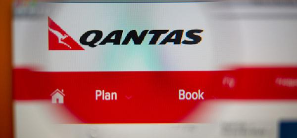 booking flights on qantas website