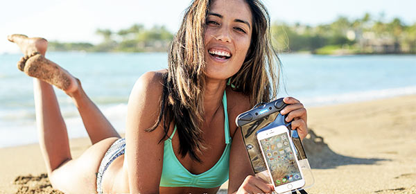 AquaSatch is the must have phone accessory for summer