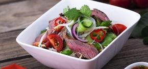 Thai Beef Salad, Recipe, Asian